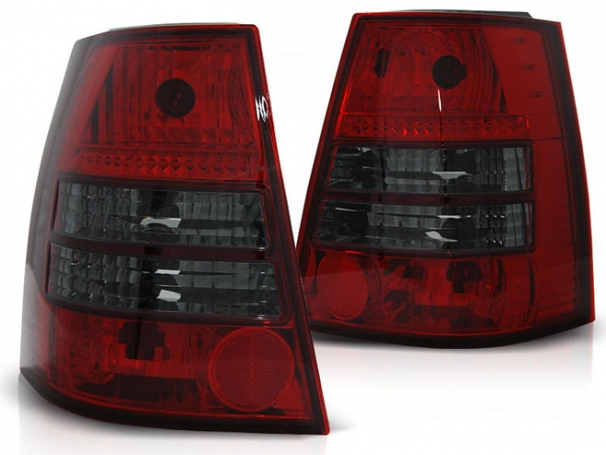 Lampy Tylne VW Golf 4 IV Variant 98-04r Red-Black