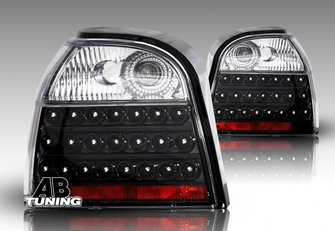Lampy Tylne VW Golf 3 91-97r Led Black