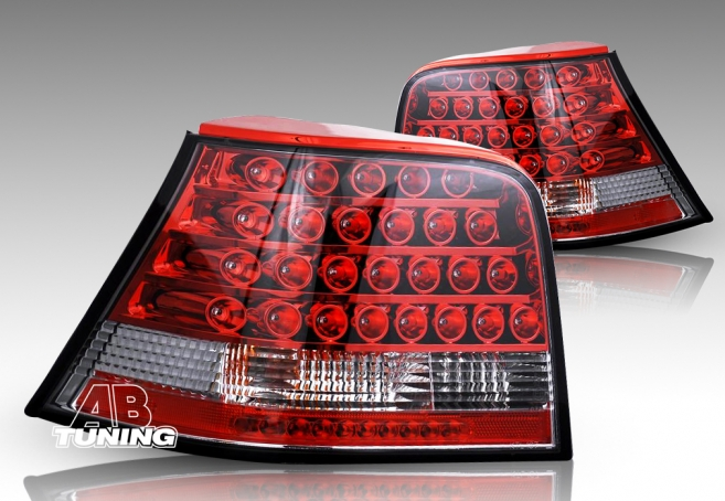Lampy Tylne VW Golf 4 98-04r Led Red