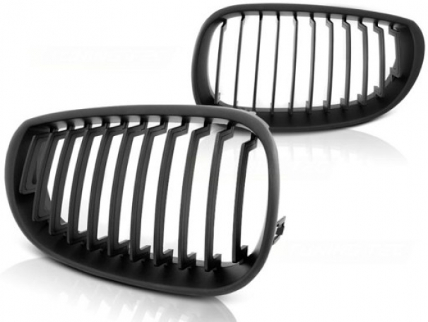 Grill Nerki BMW 5 E60 E61 03-10r Sedan Black