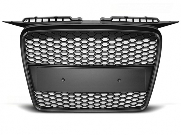 Grill Atrapa Audi A3 8P 05-08r RS-Type Matt Black