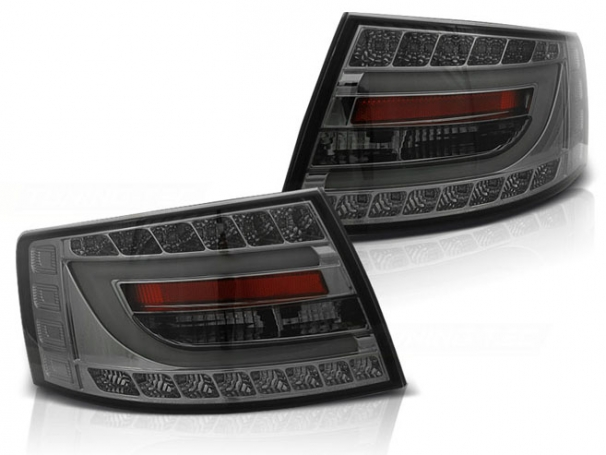 Lampy Tylne Audi A6 4F C6 Sedan 04-08r Led Bar Smoke 7PIN