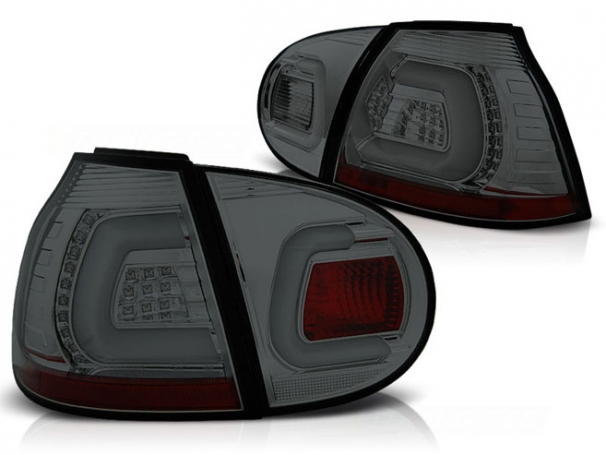 Lampy Tylne VW Golf 5 V 03-09r Led Bar Smoke