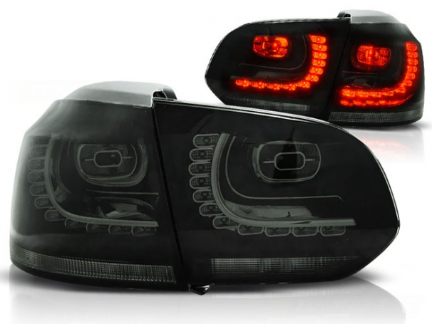 Lampy Tylne VW Golf 6 VI 08-12r Led Smoke